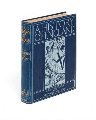 Fletcher (C.R.L.) and Rudyard Kipling. - A History of