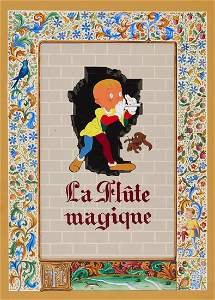 Animated Film.- - The Magic Flute,