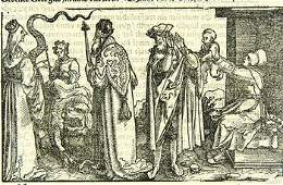 515A A mixed group of old master engravings