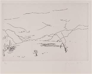 Barry Flanagan (1941-2009) - Loch Ness no.2