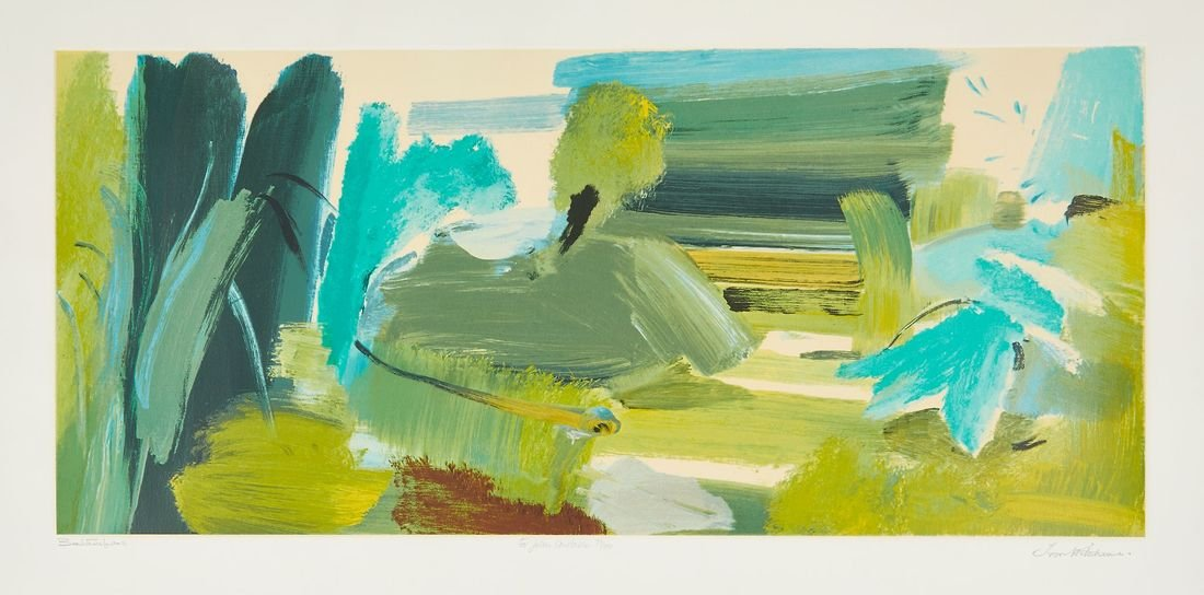 **Ivon Hitchens (1893-1979) - For John Constable
