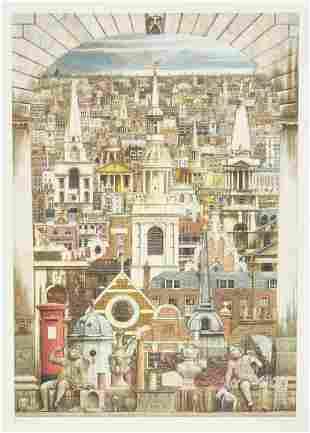Andrew Ingamells (b.1956) - Prospectus Londinensis (+2
