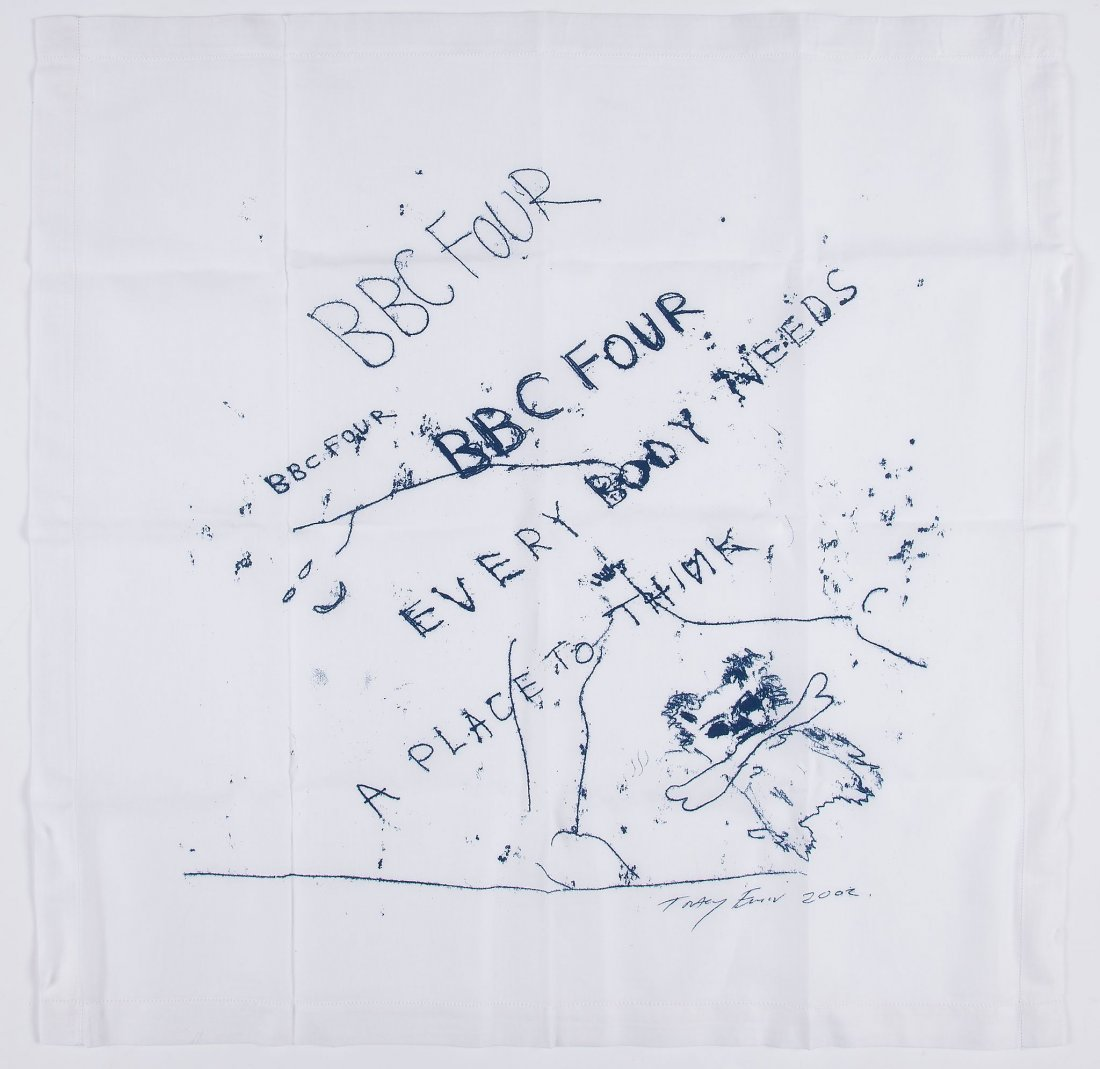 Tracey Emin (b.1963) - Everybody needs a place to think;