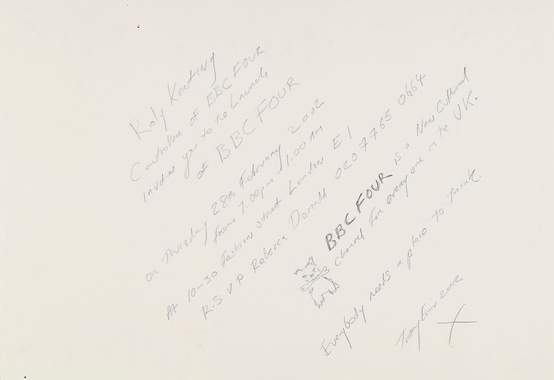 Tracey Emin (b.1963) - Original drawings for 'Everybody