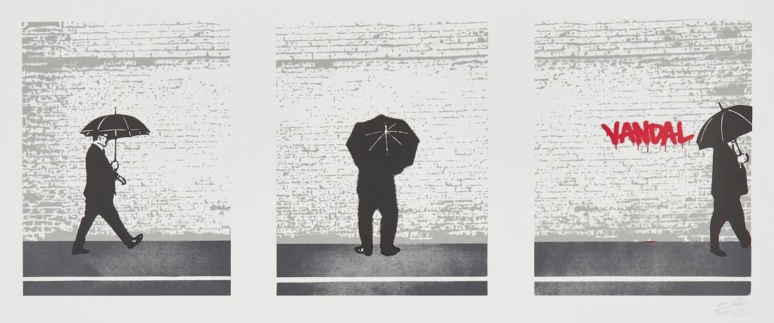Nick Walker (b.1969) - The Vandal - Triptych