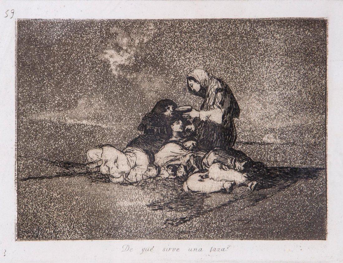 Francisco de Goya (1746-1828) - De qué sirve una