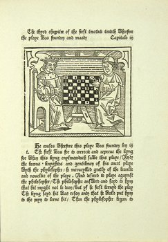 13B: The Game of the Chesse, facsimile