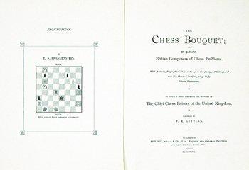 15B: Gittins:  The Chess Bouquet, First Edition