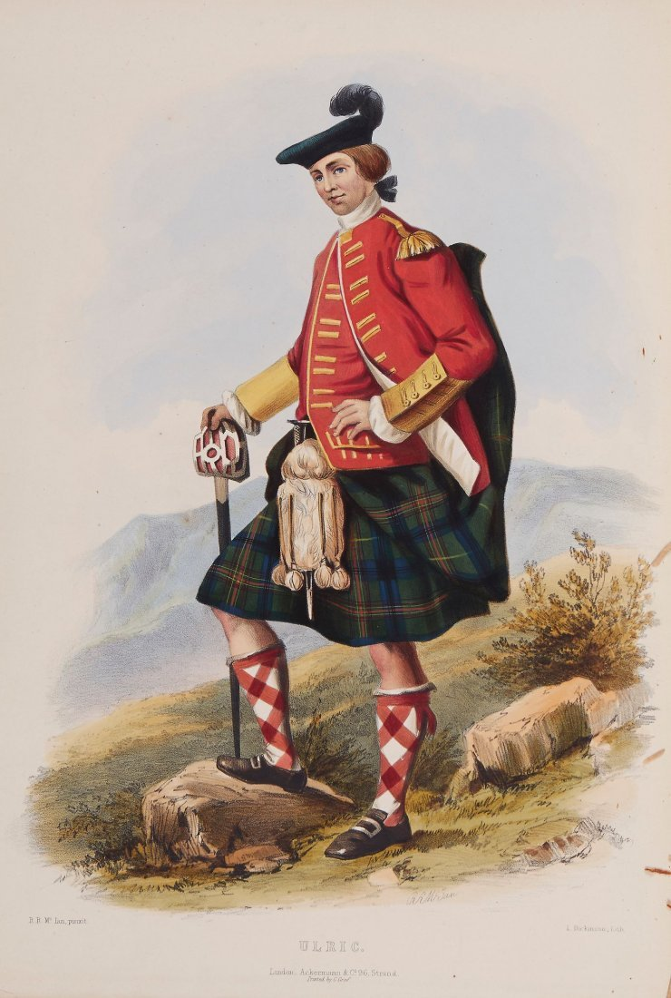 """Logan (James) - The Clans of the Scottish Highlands,"""""""