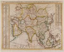 Chatelain Henri Abraham  Nouvelle Carte de lAsie