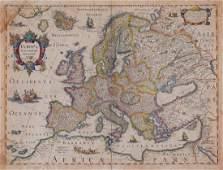 "Hondius (Henricus) - Europa Exactissime Descripta,"""