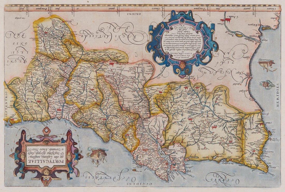Ortelius (Abraham) - Portugalliae que olim Lusitania,
