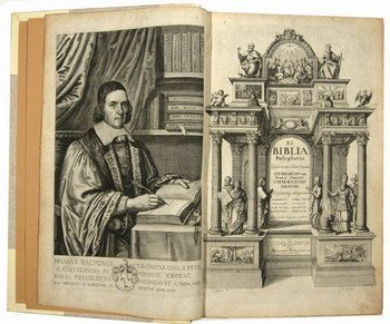 24D: Biblia Sacra Polyglotta, ed.Walton, 6v,1655-7