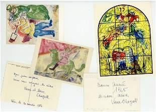 "Chagall, Valentina ""Veva"" - Group of five festive"