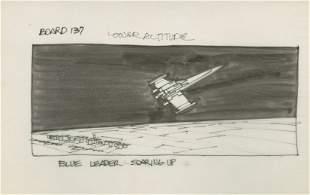 Johnston, Joe - Pen and ink storyboard drawing