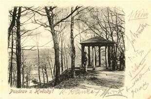 Mucha, Alphonse & others - Photographic postcard to