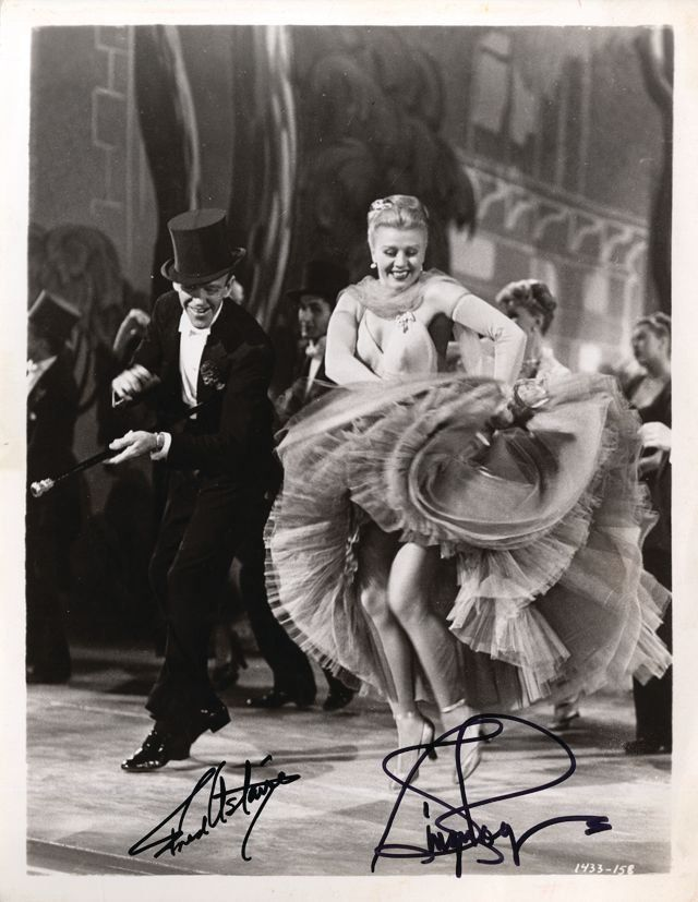 Astaire, Fred & Ginger Rogers - Black and white