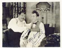 Laurel Stan  Oliver Hardy  Black and white