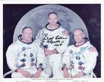 Apollo 11  Colour photograph of the Apollo 11 crew