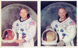 Apollo 11 - Set of three individual colour official