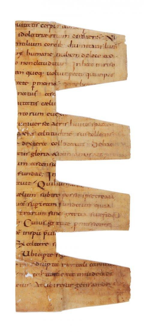 Bede, Homilies on the Gospels, in Latin, manuscript on