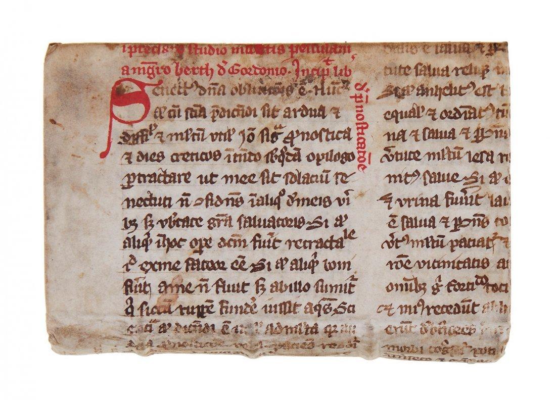 Bernardinus de Gordonius, Liber pronosticorum , in
