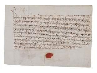Henry VII - Document Signed,