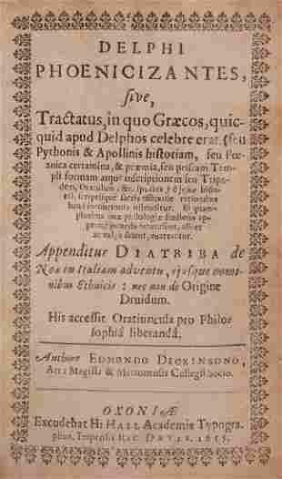Dickinson (Edmund) - Delphi Phoenicizantes,