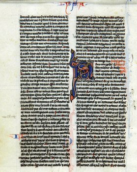 1A: Bible, Latin. Single leaf