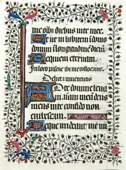 8A: Book Of Hours, Single leaf