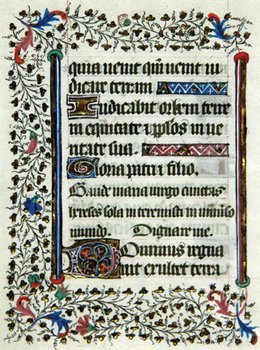 10A: Book of Hours, Single leaf