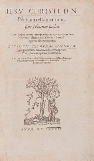 Bible, - Greek & Latin , Novum Testamentum sive Novum