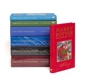 Rowling (J.K.) - [A full set of the deluxe edition