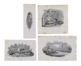 Bewick (Thomas) - A Collection of Proof Vignettes,