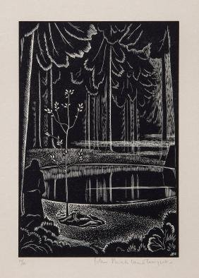 Buckland Wright (John) - 6 wood-engravings for A.Roland