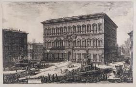 Piranesi (Giovanni Battista) - Veduta del Palazzo
