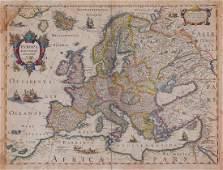 Hondius (Henricus) - Europa Exactissime Descripta,