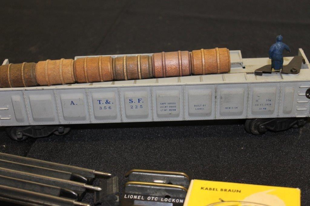 3562 Barrel Car with Barrels etc - 5