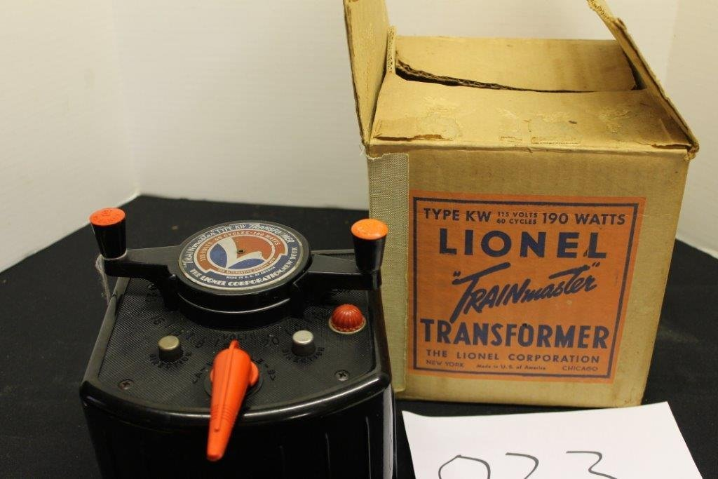 Trainmaster Transformer With Box!!