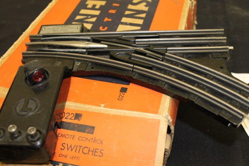 """""""O"""" Gauge Switches 022 with Box"""