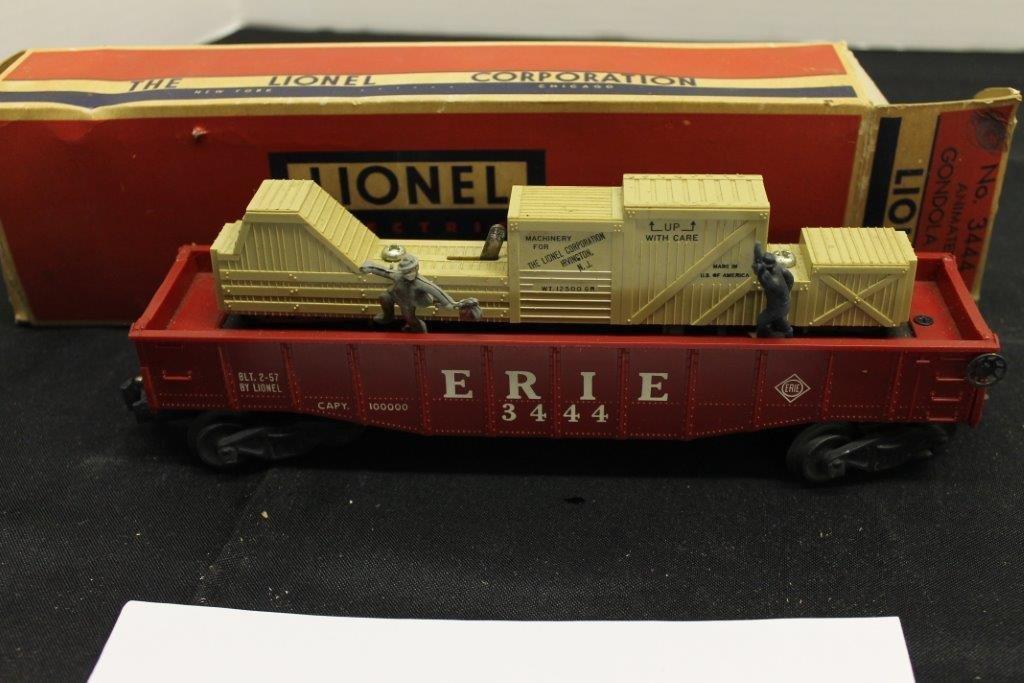 3444 Animated Gondola Car with Box