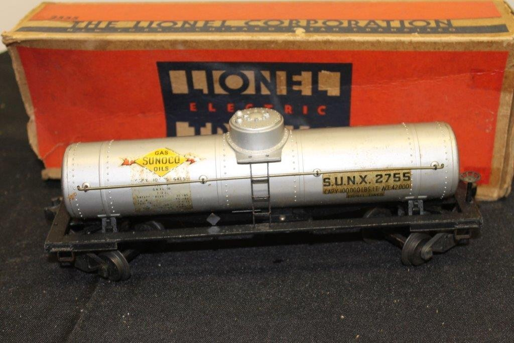 "2555 ""O"" Gauge Tank Car with Box"