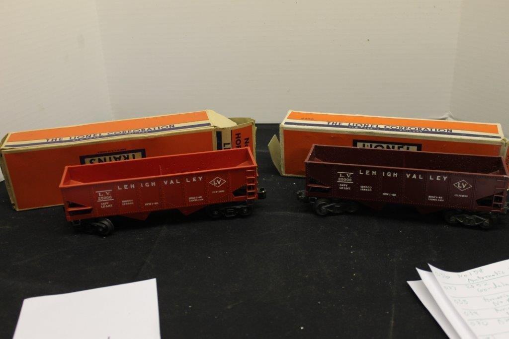 6456 Hopper Car 6476 Hopper Car with Box's