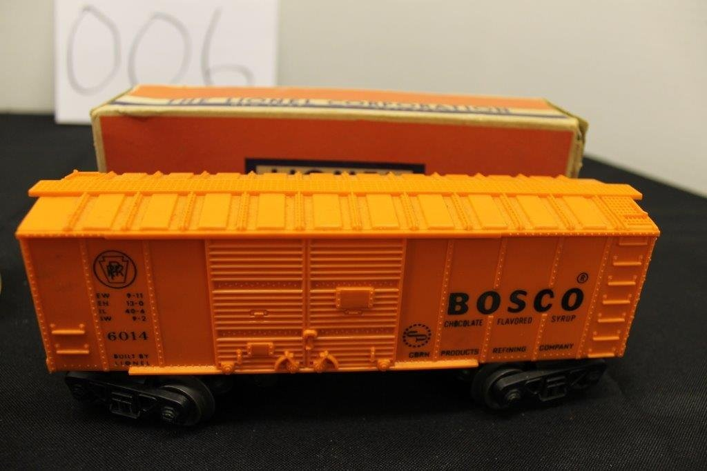 6465 Gulf Tanker with Box; Plus 6014-85 Car - 3