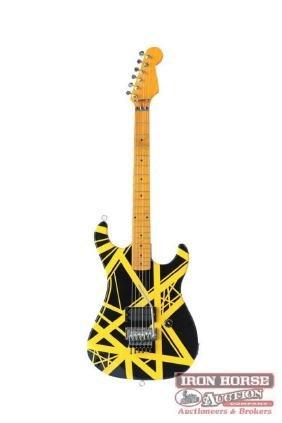 Eddie Van Halen Fender Stratocaster Tribute Guitar