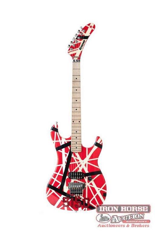 Eddie Van Halen Kramer 5150 Custom Electric Guitar May 03 2017 Iron Horse Auction Company Inc In Nc