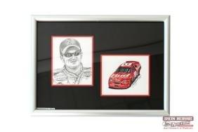 Dale Earnhardt Jr and Bud Car Original