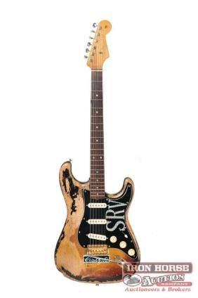 """""""SRV"""" Fender Stratocaster Relic"""