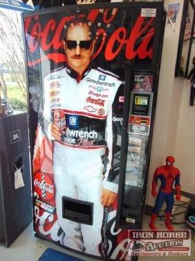 Dale Earnhardt Coca-Cola Machine