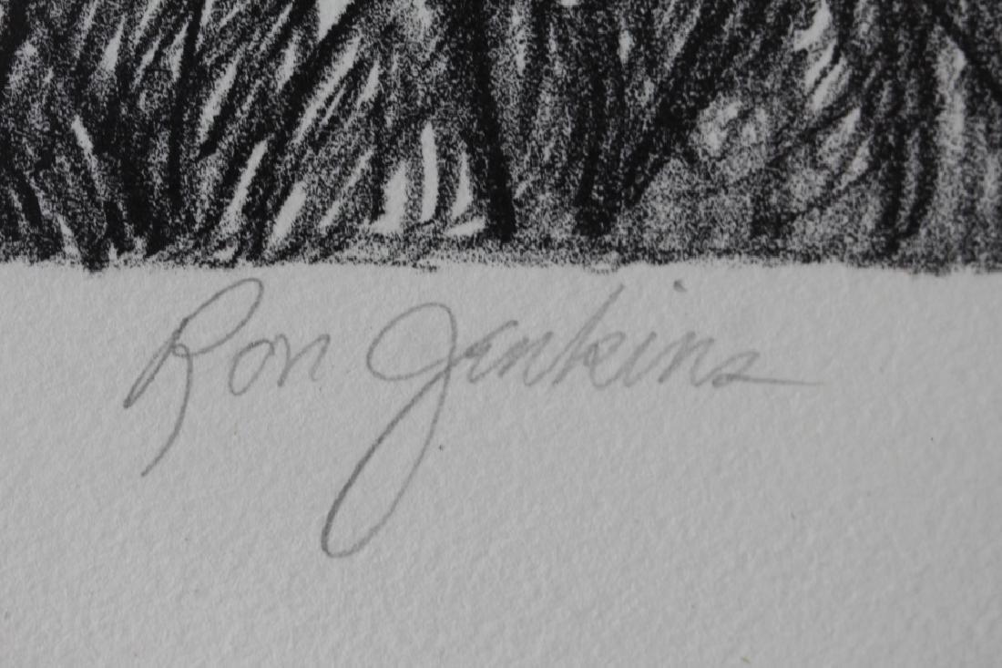 Signed & Numbered Ron Jenkins Bob White Print - 4